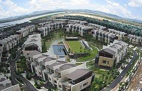 珠海斗门区住宅开发区环境景观