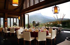海南三亚七仙瑶池度假酒店三楼船屋会所
