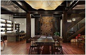 杭州台门酒会展览设计