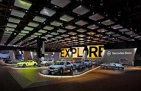 美国2011北美国际车展梅赛德斯-奔驰展厅
