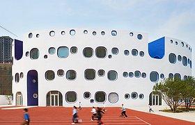 天津的环形幼儿园