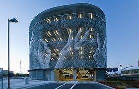 美国圣荷西国际机场,合并租赁车库