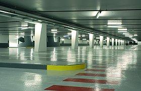 瑞士中心停车场