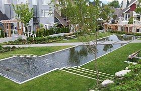 加拿大萨萨马特花园景观