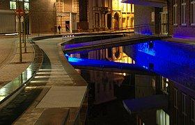 比利时流水回城项目公共广场