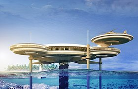 瑞士Water Discus Underwater 酒店