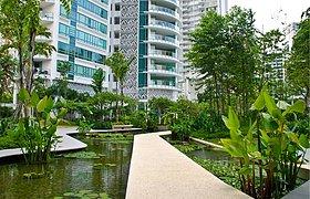 新加坡The Trillium住宅景观