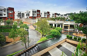 广州从化温泉别墅景观