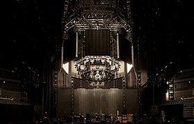 英国呛辣红椒乐团世界巡回演唱会舞台