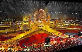英国2012伦敦奥与会闭幕式舞台设计