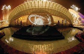 西班牙迈凯伦F1马戏团舞台设计
