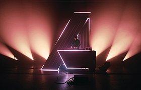 德国A-Trak DJ棚舞台