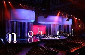 挪威2008诺贝尔和平奖音乐会舞台