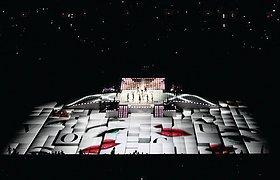 美国超级杯中场表演——麦当娜舞台