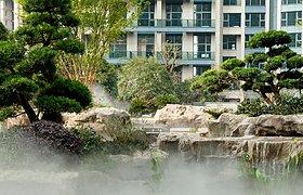 杭州欣盛东方福邸景观设计