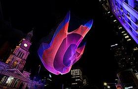 澳大利亚1.26悉尼空中雕塑