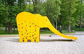 德国开姆尼斯动物园广场