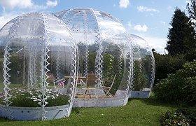 丹麦哥本哈根隐形花园温室