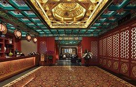河南虢州酒店会所茶区