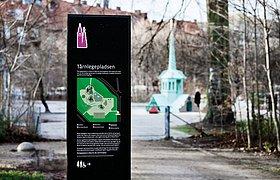人们的公园,人们的标识