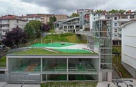 台地式停车场塑造高品质怡人城市公共空