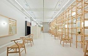 木质空间--大阪美发沙龙