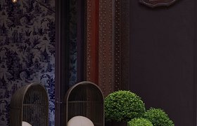 香港浓浓中国风的意大利餐厅