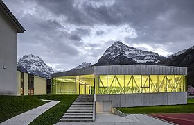 瑞士格拉鲁斯州林塔尔地区新体育馆