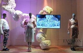 Madame × Galeries Lafayette法国巴黎橱窗展示设计