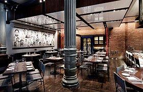 Chefs Club纽约厨师俱乐部餐厅设计