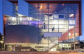 荷兰Crossoverzaal音乐厅——盒中盒