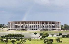 """巴西利亚2014年FIFA世界杯 """"马内·加林沙""""国家体育场"""