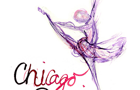 Chicago Dancing Festival Poster