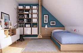 Attic apartment B2