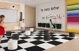 """以色列幼儿园""""门厅"""""""