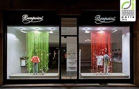 法国巴黎Bonpoint 2015春季橱窗设计