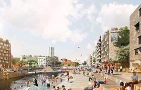 瑞典斯德哥尔摩市皇家海港新城滨水区规划设计竞赛头奖