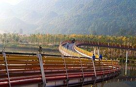 中国贵州明湖湿地公园