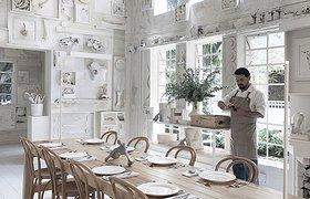 """墨西哥挂满了""""骨头""""的新概念设计餐厅——Hueso Restaurant"""