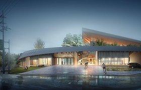 达城郡市民体育馆设计竞赛 NOA设计方案