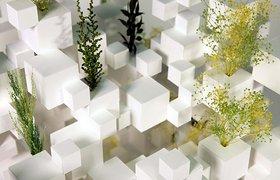 藤本壮介 巴黎艺术博览会宜居的游动雕塑