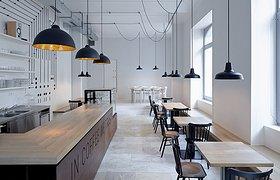 捷克布拉格电气主题咖啡厅