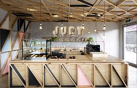 墨尔本监狱改造的清新咖啡馆