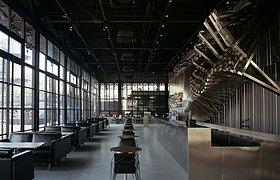 中国798艺术区中的变形咖啡厅