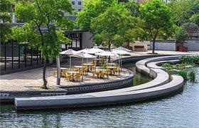 中国张家港城河改造
