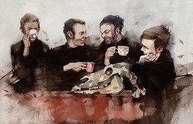 Rebus. watercolor 2010-2011