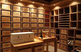 自然橡木酒窖