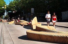 加拿大Urban Reef雕塑