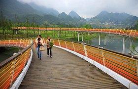 中国贵州六盘水明湖湿地公园