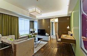 富瑞斯国际公寓A户型样板房